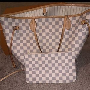 NEW LOUIS VUITTON NEVERFULL WITH Receipt & packing